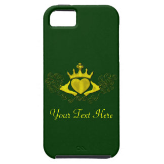 El Claddagh (oro) iPhone 5 Funda