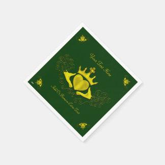 El Claddagh (oro) Servilletas Desechables
