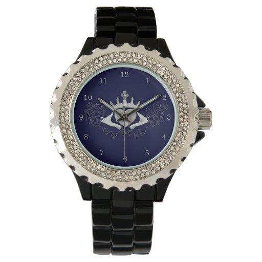 El Claddagh (plata) Reloj