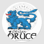 El clan Bruce Etiqueta Redonda