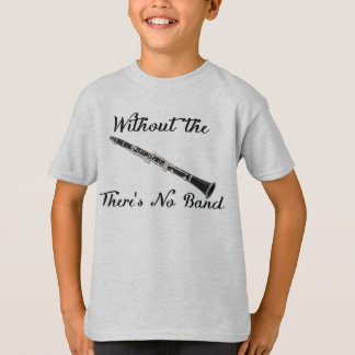 El Clarinet embroma la' camiseta básica de Hanes