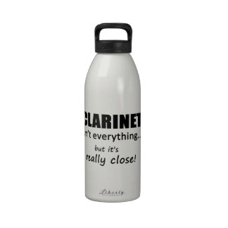 El Clarinet no es todo Botellas De Agua Reutilizables
