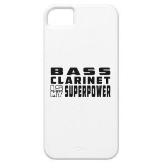 El clarinete bajo es mi superpotencia iPhone 5 Case-Mate carcasas