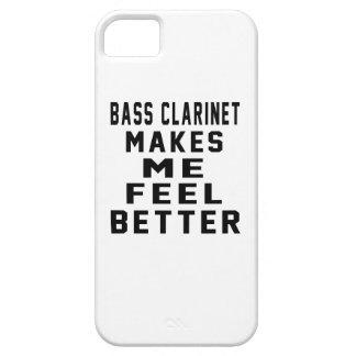 El clarinete bajo hace que siente mejor iPhone 5 Case-Mate coberturas
