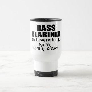 El clarinete bajo no es todo tazas de café