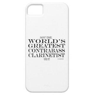 El Clarinetist más grande del Contrabass todavía iPhone 5 Case-Mate Fundas