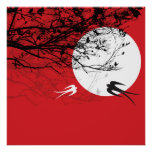el claro de luna del fatfatin traga el poster rojo