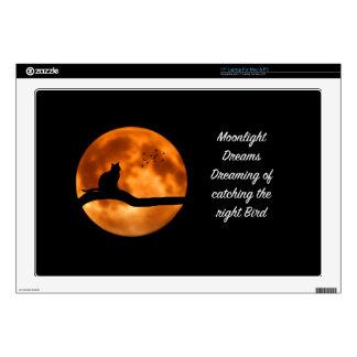 El claro de luna soña los regalos de los pájaros portátil 43,2cm skin