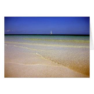 el claro riega Bahamas Tarjeta De Felicitación