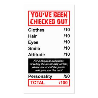 El clasificación coge la tarjeta que hacia fuera tarjetas de visita