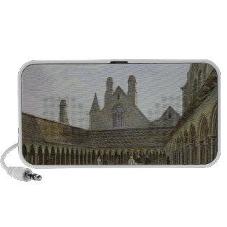 El claustro del Saint-Michel de Mont iPod Altavoces