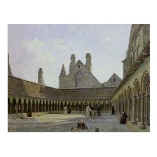 El claustro del Saint-Michel de Mont Tarjetas Postales