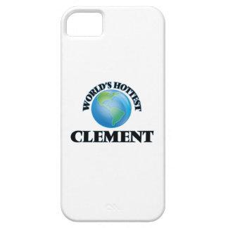 El clemente más caliente del mundo iPhone 5 funda