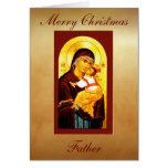 El clero carda: Padre de las Felices Navidad Felicitación
