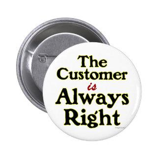 El cliente es siempre refrán correcto pin