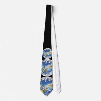 El clima de la tierra corbata personalizada