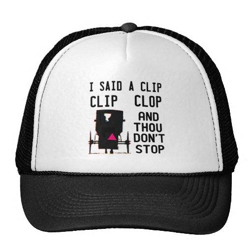 EL CLIP CLOP HIP HOP GORROS BORDADOS