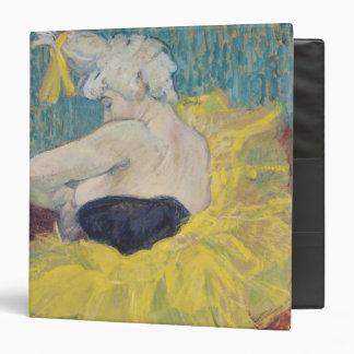 """El Clowness Cha-U-Kao en un tutú, 1895 Carpeta 1 1/2"""""""