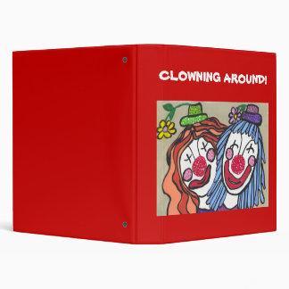 """¡EL CLOWNING ALREDEDOR! Bonder Carpeta 1"""""""