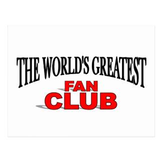El club de fans más grande del mundo postales