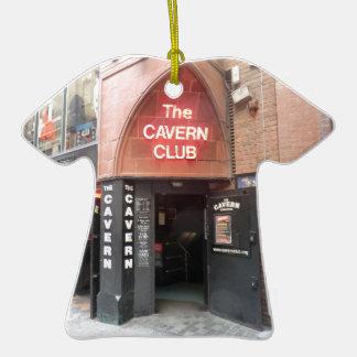 El club de la caverna en la calle de Mathew de Adorno De Cerámica En Forma De Playera