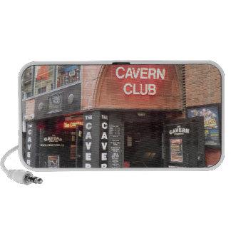 El club de la caverna en la calle de Mathew de Liv Notebook Altavoces