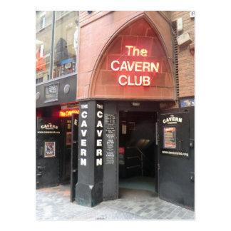 El club de la caverna en la calle de Mathew de Postal