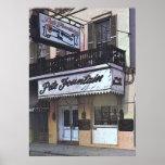 El club de la fuente de Pete, New Orleans Poster