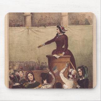 El club de las mujeres, c.1848 alfombrilla de ratón