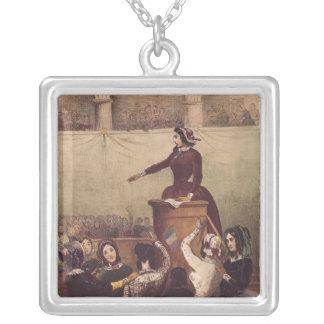 El club de las mujeres, c.1848 colgante cuadrado