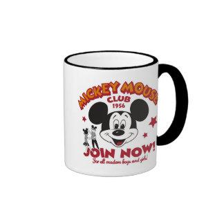 """El club de Mickey Mouse """"ahora se une a """" Taza A Dos Colores"""