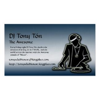 El club de Tony Tarjetas De Visita