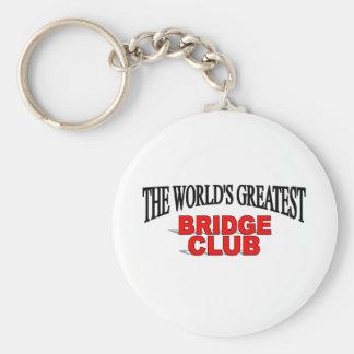 El club del puente más grande del mundo llaveros personalizados