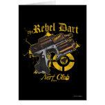 El club rebelde de Nerf del dardo Tarjeta De Felicitación