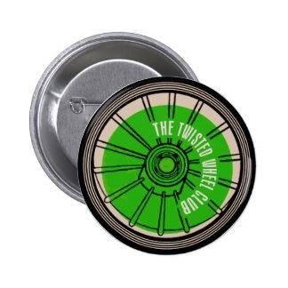 El club torcido de la rueda chapa redonda 5 cm
