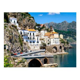 El coadt de Amalfi de Italia meridional Postal