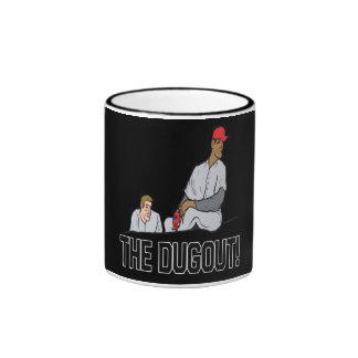 El cobertizo taza de dos colores