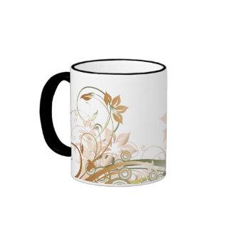 El cobre prosperó la taza de las flores - 1