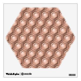 El cobre tejó la etiqueta de la pared del malefici