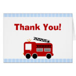 El coche de bomberos de las rayas azules le agrade