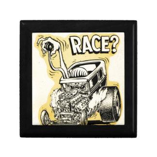 el coche de carreras quiere competir con oldschool caja de recuerdo