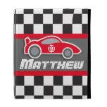 el coche de deportes rojo auto de los niños nombró