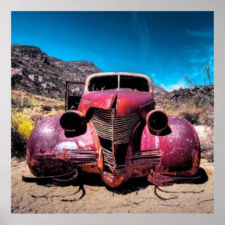 El coche de la langosta un vintage Chevy 1939 Impresiones