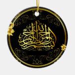 El coche de oro del Islam cuelga Ornamentos Para Reyes Magos