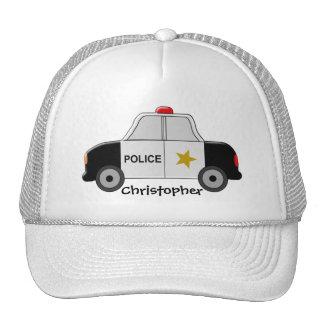 El coche policía apenas añade nombre gorros
