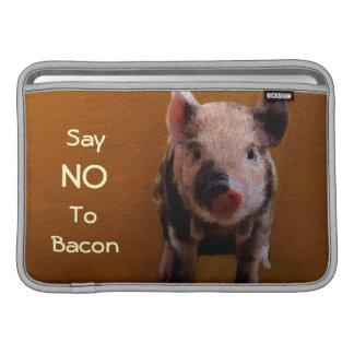 El cochinillo lindo dice no al bacon funda macbook air