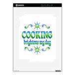 El cocinar aclara skins para iPad 2