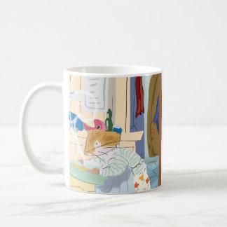 El cocinar casero del ratón taza de café