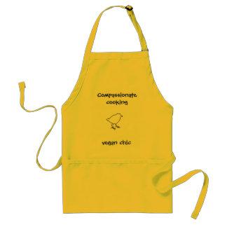 El cocinar compasivo delantal