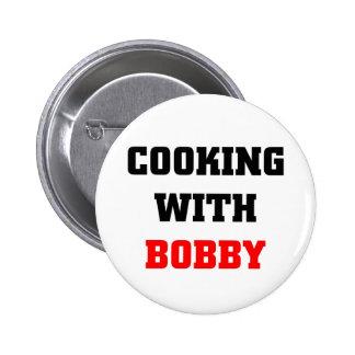 El cocinar con Bobby Pins